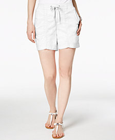 Style & Co Comfort-Waist Shorts, Created for Macy's