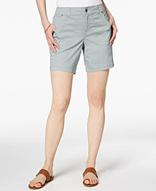 Petite Relaxed-Fit Shorts, Created for Macy's