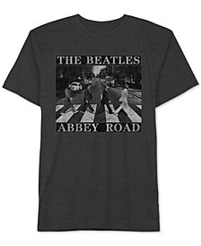 The Beatles Abbey Road Men's T-Shirt by Hybrid Apparel