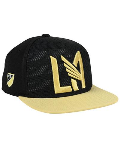adidas Los Angeles Football Club Authentic Snapback Cap