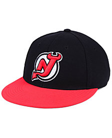 adidas New Jersey Devils Basic Fitted Cap