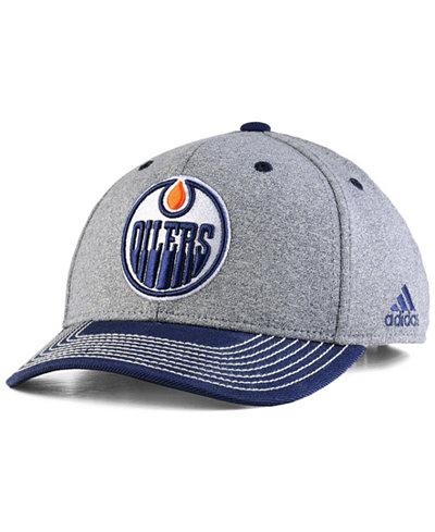 adidas Edmonton Oilers Heather Line Change Cap