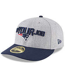 New Era New England Patriots Draft Low Profile 59FIFTY FITTED Cap