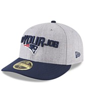 7255789427ed9 New Era New England Patriots Draft Low Profile 59FIFTY FITTED Cap