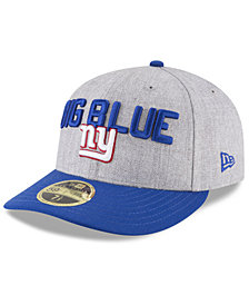 New Era New York Giants Draft Low Profile 59FIFTY FITTED Cap