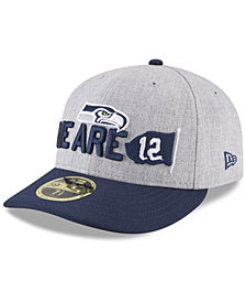 New Era Seattle Seahawks Draft Low Profile 59FIFTY FITTED Cap