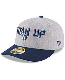 New Era Tennessee Titans Draft Low Profile 59FIFTY FITTED Cap