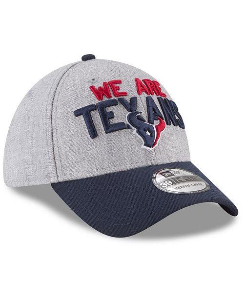 5432157b4007d New Era Houston Texans Draft 39THIRTY Cap - Sports Fan Shop By Lids ...