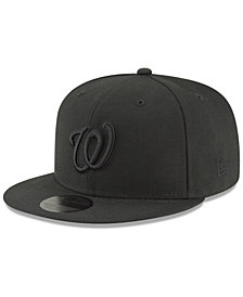 New Era Washington Nationals Blackout 59FIFTY FITTED Cap