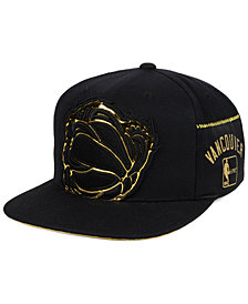 Mitchell & Ness Vancouver Grizzlies Patent Cropped Snapback Cap