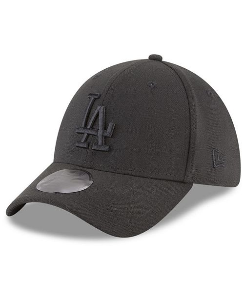 New Era Los Angeles Dodgers Blackout 39THIRTY Cap