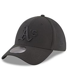 New Era Oakland Athletics Blackout 39THIRTY Cap