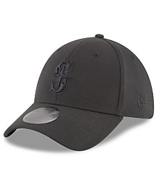 New Era Seattle Mariners Blackout 39THIRTY Cap