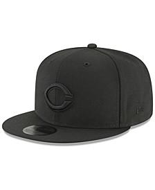 Cincinnati Reds Blackout 59FIFTY FITTED Cap