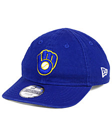 New Era Boys' Milwaukee Brewers Jr On-Field Replica 9TWENTY Cap