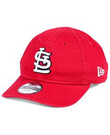 New Era Boys' St. Louis Cardinals Jr On-Field Replica 9TWENTY Cap