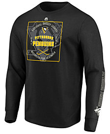 Majestic Men's Pittsburgh Penguins Keep Score Long Sleeve T-Shirt