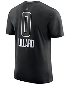 Jordan Men's Damian Lillard Portland Trail Blazers All-Star Jordan Player T-Shirt