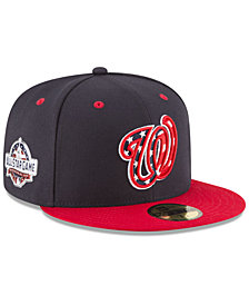 New Era Washington Nationals Washington All Star Game Patch 59FIFTY FITTED Cap
