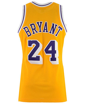 Mitchell & Ness Men's Kobe Bryant Los Angeles Lakers Authentic ...