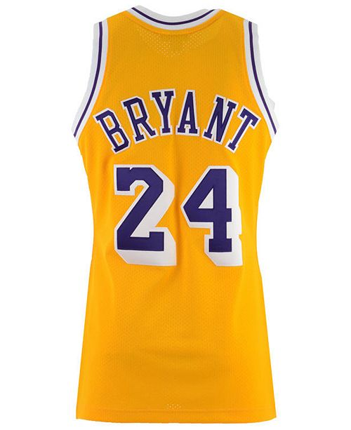 Mitchell Ness Men S Kobe Bryant Los Angeles Lakers Authentic Jersey Sports Fan Shop By Lids Men Macy S