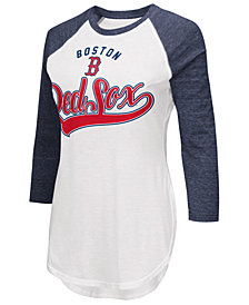 G-III Sports Women's Boston Red Sox Tailgate Raglan T-Shirt