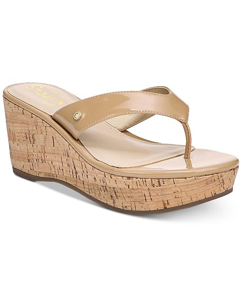 3a35925c0f8d8 Circus by Sam Edelman Raquel Cork Wedge Sandals   Reviews ...