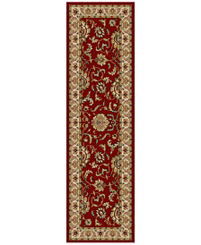 "CLOSEOUT! KM Home Pesaro Imperial 2'2"" x 7'7"" Runner"