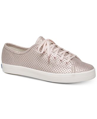 Kate Spade New York Keds for Kickstart Perforated Shimmer Sneakers