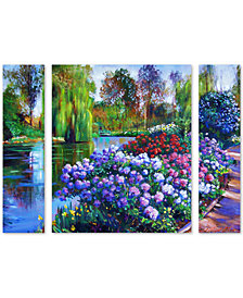 David Lloyd Glover 'Promise of Spring' Large Multi-Panel Wall Art Set