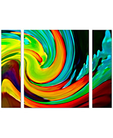 Amy Vangsgard 'Crashing Wave' Large Multi-Panel Wall Art Set