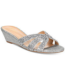 Thalia Sodi Ronie Slide Wedge Sandals, Created for Macy's