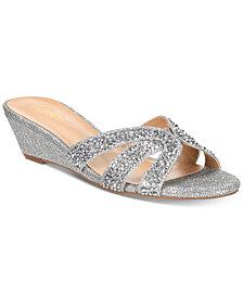 Thalia Sodi Ronie Slide Wedge Sandals, Created for Macy's