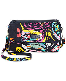 Vera Bradley Iconic RFID All in One Crossbody