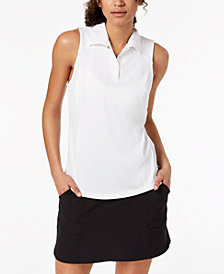 Ideology Sleeveless Polo, Created for Macy's