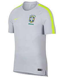 Nike Men's Breathe Brasil CBF Squad Soccer Top