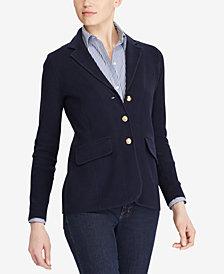 Lauren Ralph Lauren Petite Sweater Blazer