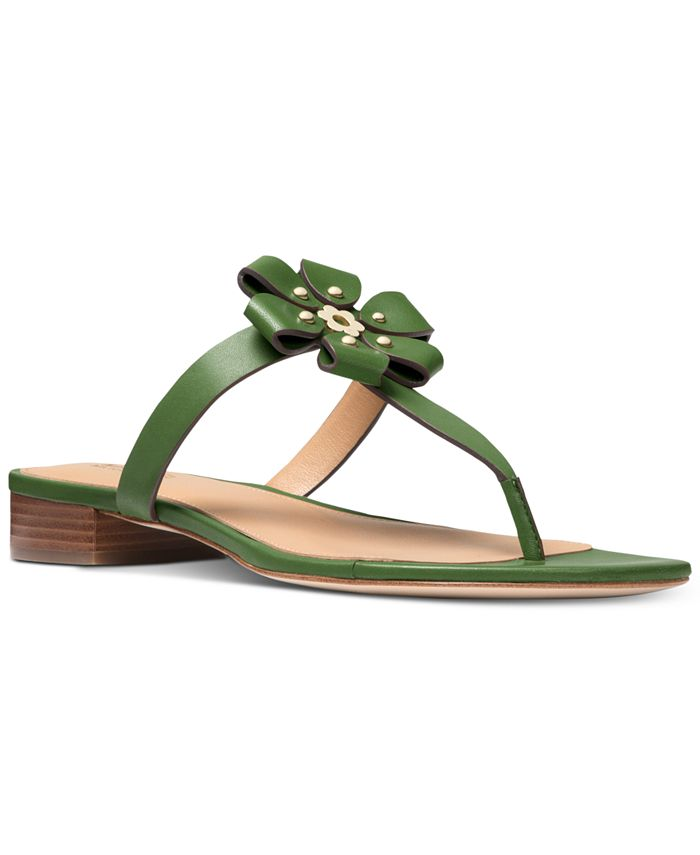 Michael Kors - Women's Tara Flat Thong Sandals