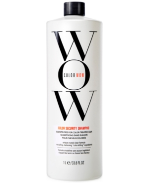 Color Wow Color Security Shampoo, 33.8-oz, from Purebeauty Salon & Spa