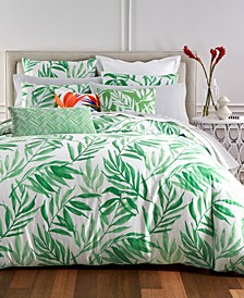 CLOSEOUT! Palm Duvet Cover Sets, Created for Macy's
