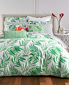 Charter Club Damask Designs Palm 3-Pc. Full/Queen Duvet Cover Set, Created for Macy's
