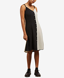 Volcom Juniors' Canary Island Button-Up Dress