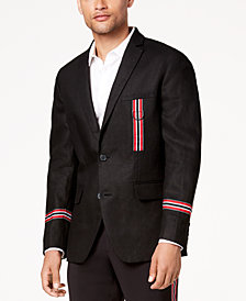 I.N.C. Men's Side-Striped Slim-Fit Blazer, Created for Macy's