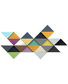 Ren Wil Tremulous Triangle Wall Art, Quick Ship