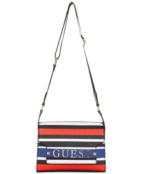 9c975feeba GUESS Felix Shoulder Bag   Reviews - Handbags   Accessories - Macy s