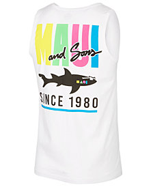 Maui and Sons Men's Original Logo-Print Tank