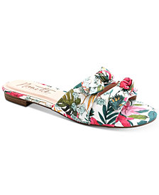 Nanette by Nanette Lepore Kendra Knotted Slide Sandals, Created for Macy's