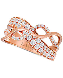 Le Vian® Diamond Ring (3/4 ct. t.w.) in 14k Rose Gold