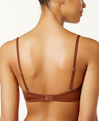 Calvin Klein Naked Glamour Strapless Push Up Bra F3493 All Bras