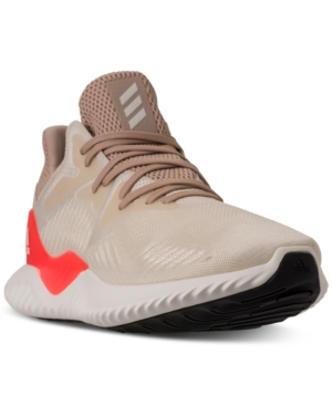 4fa378570714 Adidas Originals Adidas Men S Alphabounce Beyond Running Sneakers From Finish  Line In Linen Crysal White